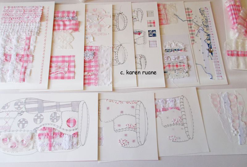 Image of Sampling for Stitch. Work on your own online learning.