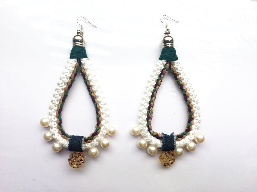 Image of Zambyah teardrop earrings