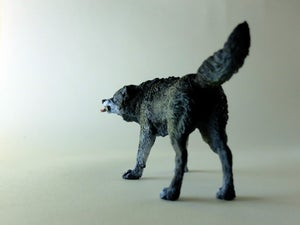 Image of Timber Wolf sculpture, edition of 50