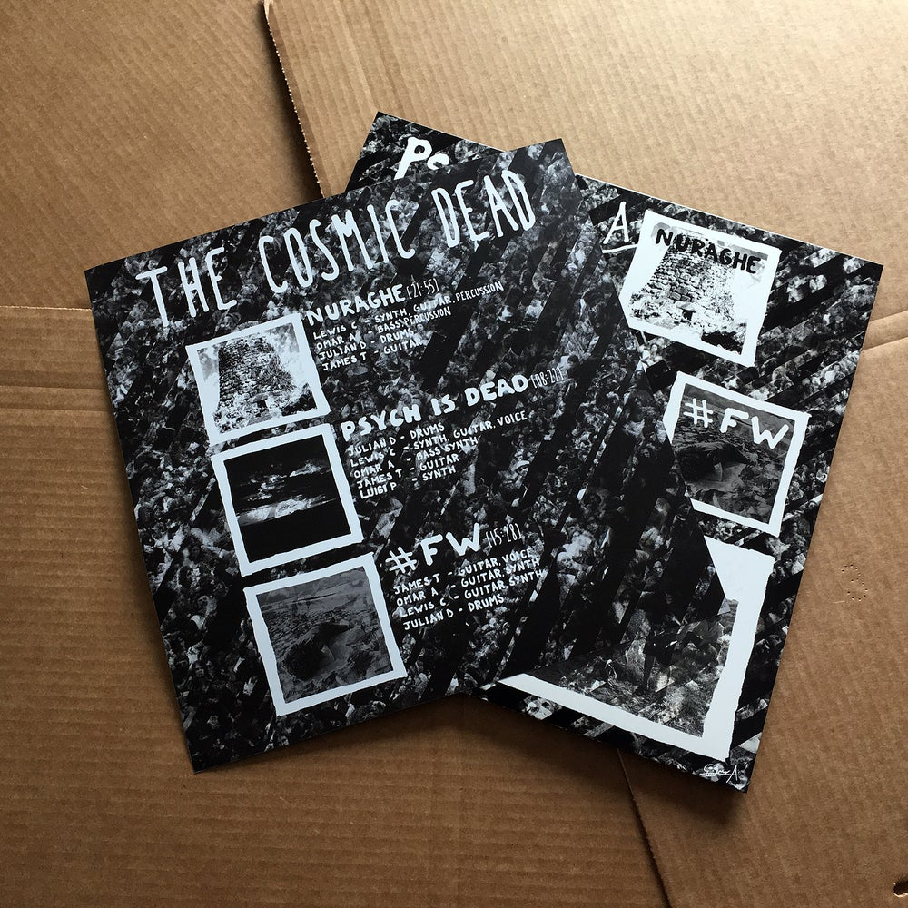 THE COSMIC DEAD 'Psych Is Dead' Silver Vinyl LP