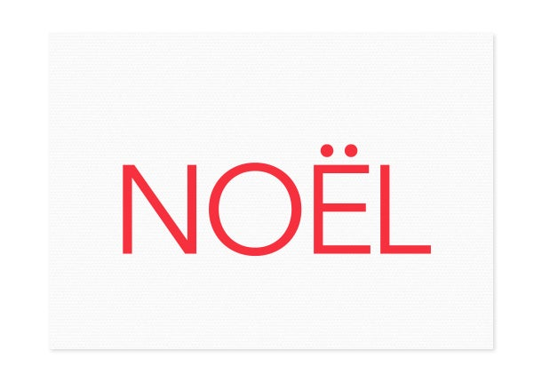Image of noël | red