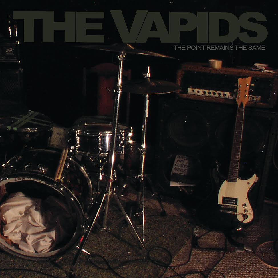 "Image of THE VAPIDS - THE POINT REMAINS THE SAME"" LP - OUT NOW!!!"