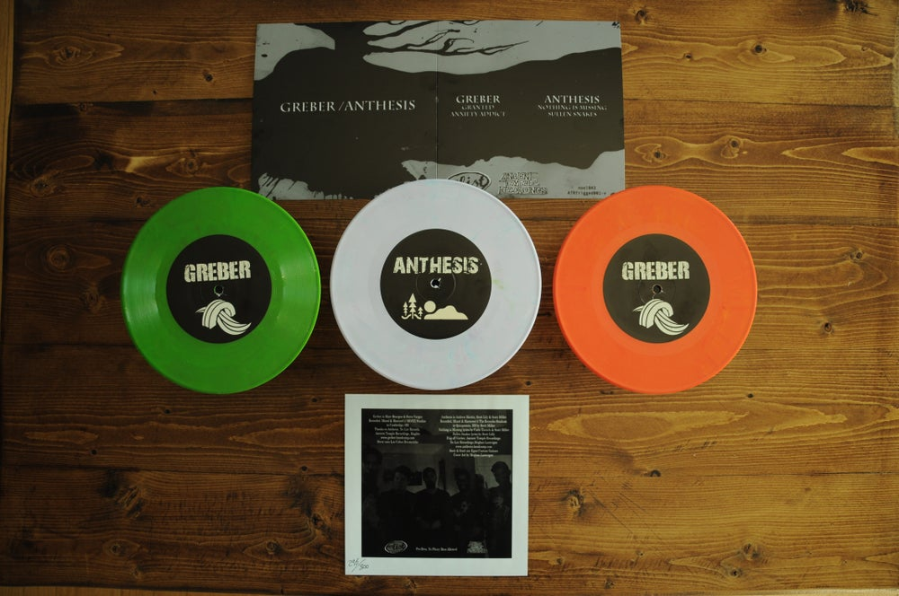 "Image of Greber / Anthesis - 7"" Split *Ltd /300*"