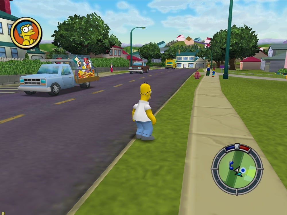 Image of Simpsons Run And Hit Download Free