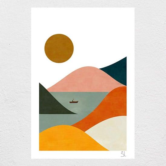 Image of El Barquero Print
