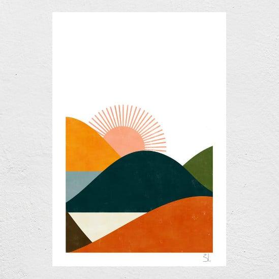Image of Landscape print