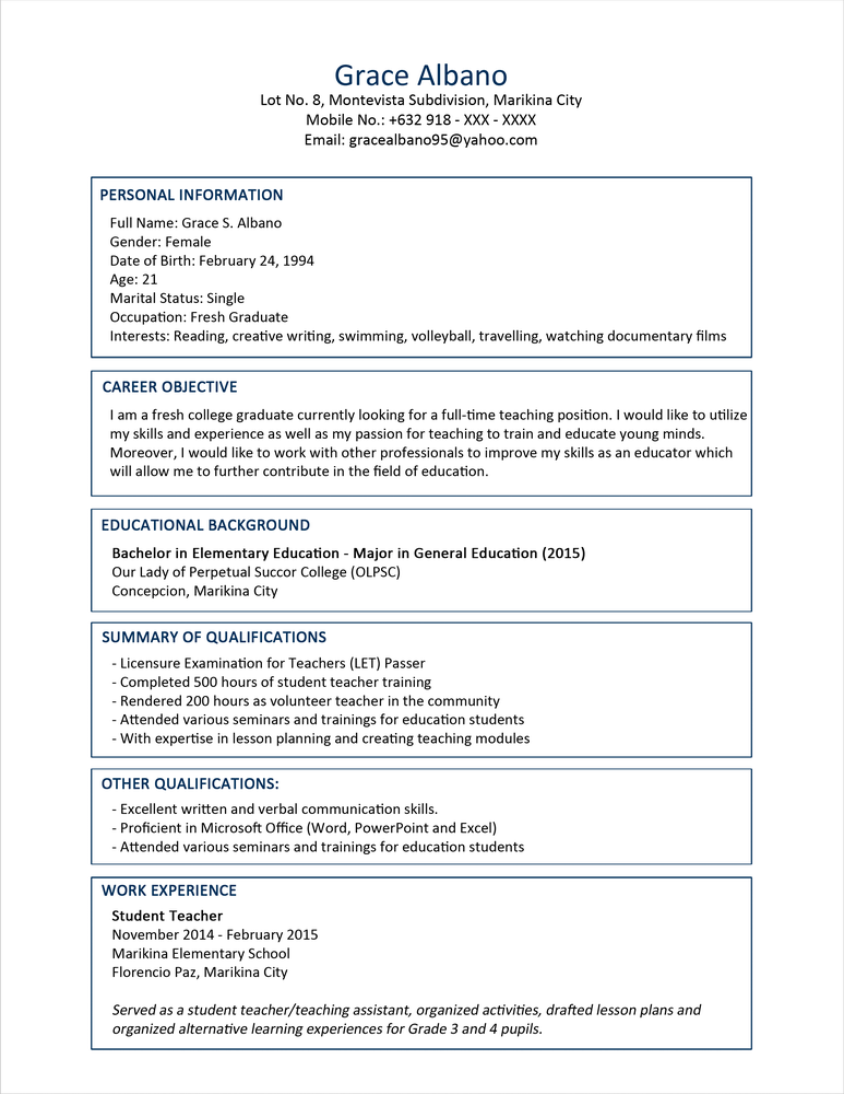Inalsmar Download Modello Curriculum Vitae Da Compilare