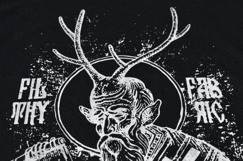 "Image of ""Deer Lord"" Black T-Shirt"