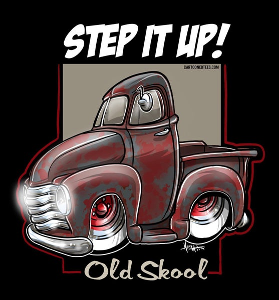 Image of STEP IT UP OLD SKOOL PATINA