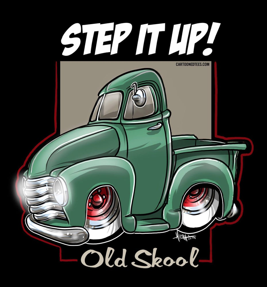 Image of STEP IT UP OLD SKOOL GREEN