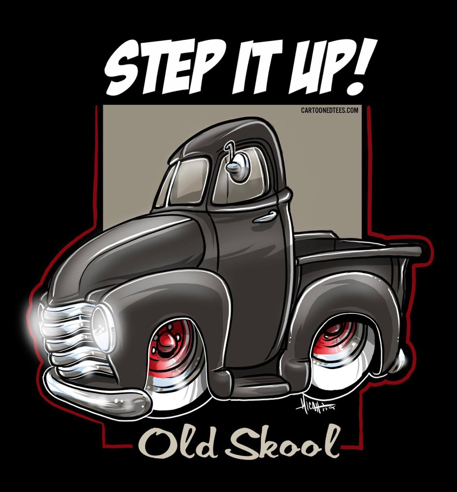 Image of STEP IT UP OLD SKOOL BLACK