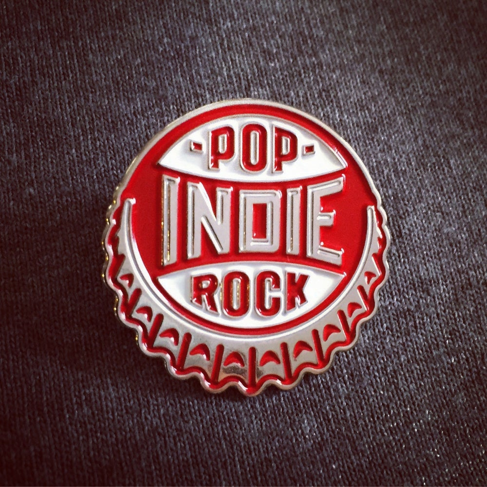 Image of INDIE POP ROCK Lapel Pin