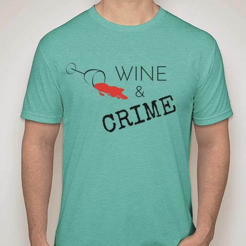 Image of Men's Crewneck T-Shirt (Teal)