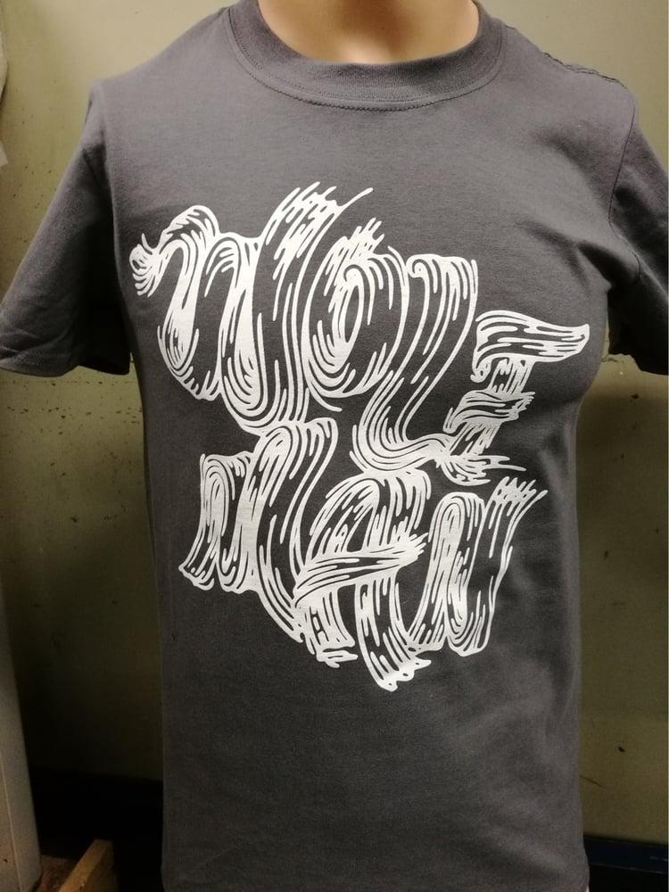 Image of Wolfman Tee (Vintage Black) + Free Stickers!