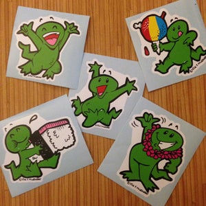 Image of Gecko Stickers