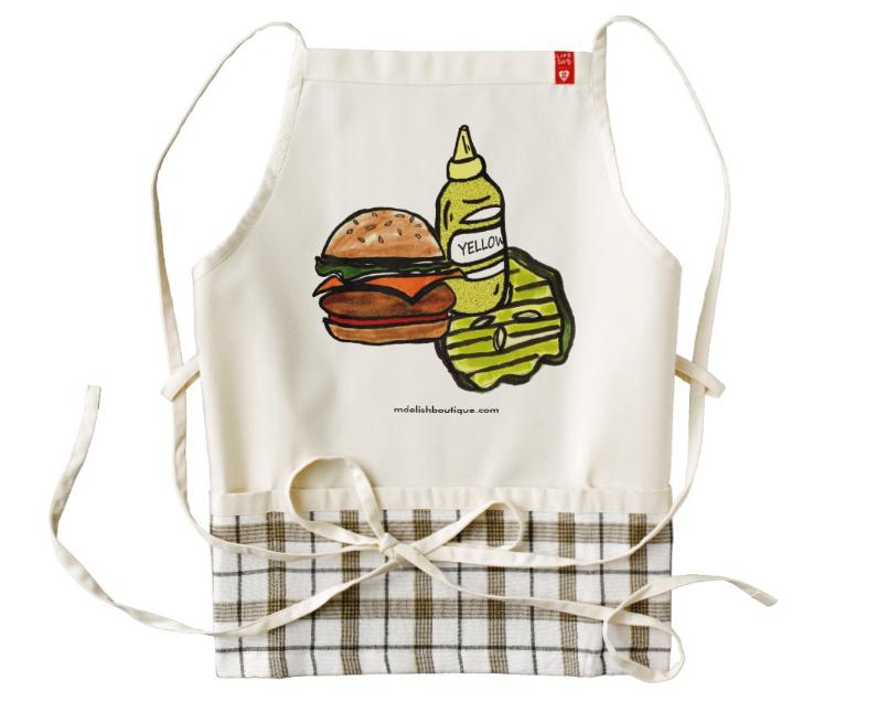 Image of Burger BBQ Apron