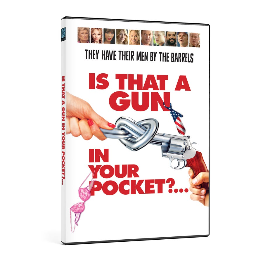 Image of Pre-Order: Is That a Gun in Your Pocket?... DVD