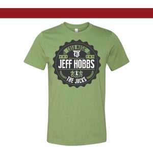 "Image of HEATHER GREEN SOFT ""BOTTLE CAP"" TEE"