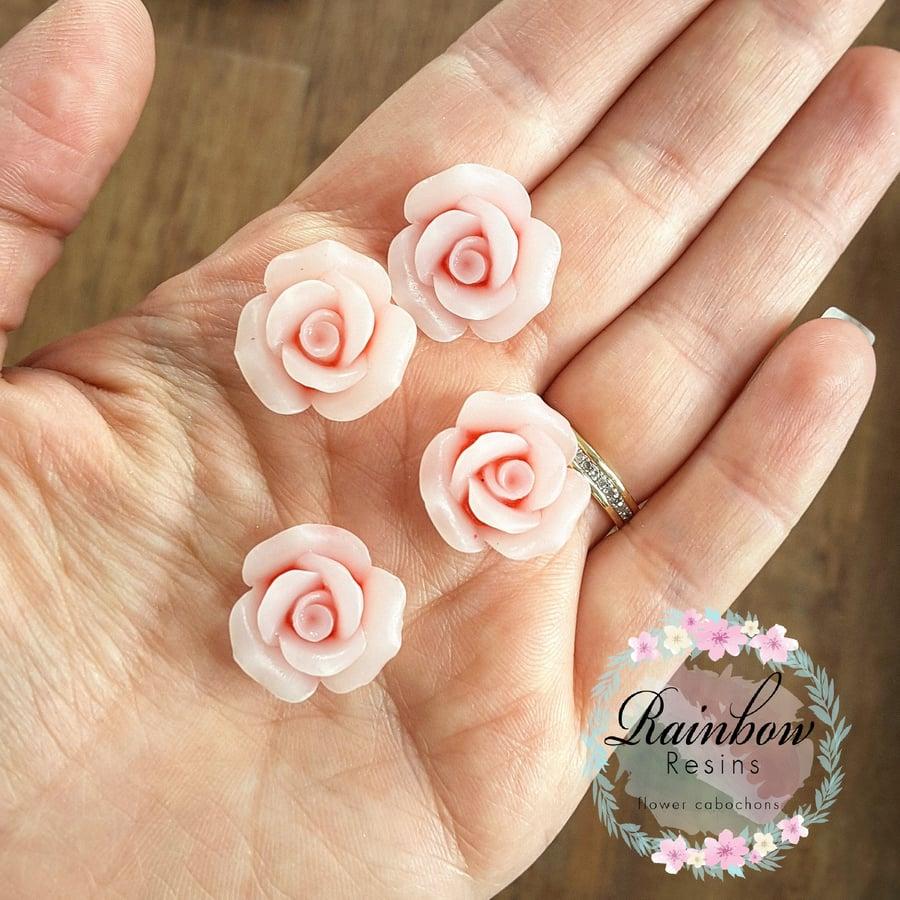 Image of Dusky pink matt roses x 10
