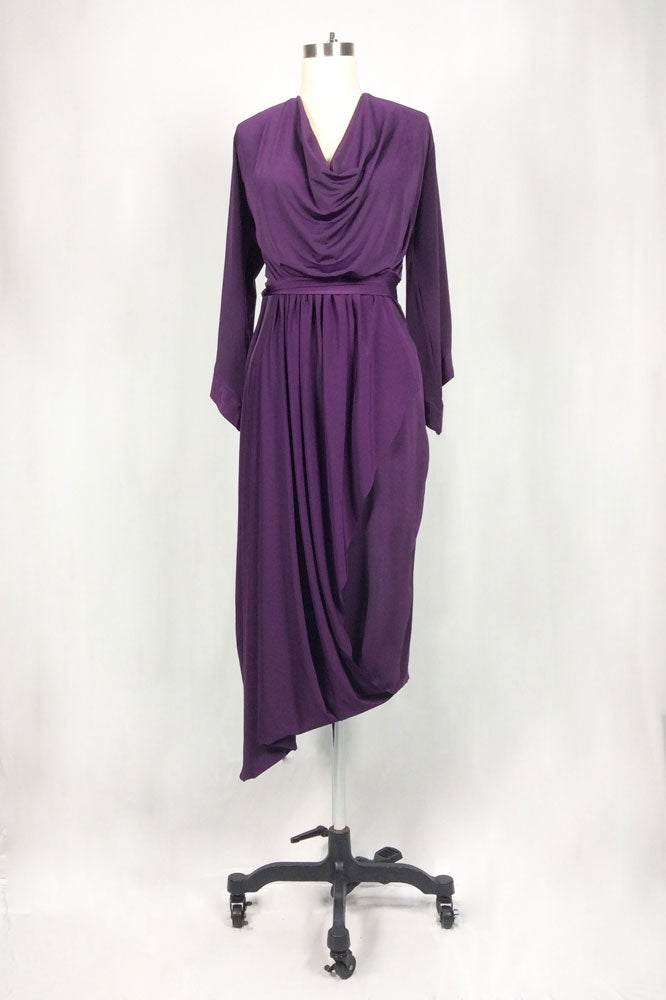 Image of Caraf Dress (Eggplant)