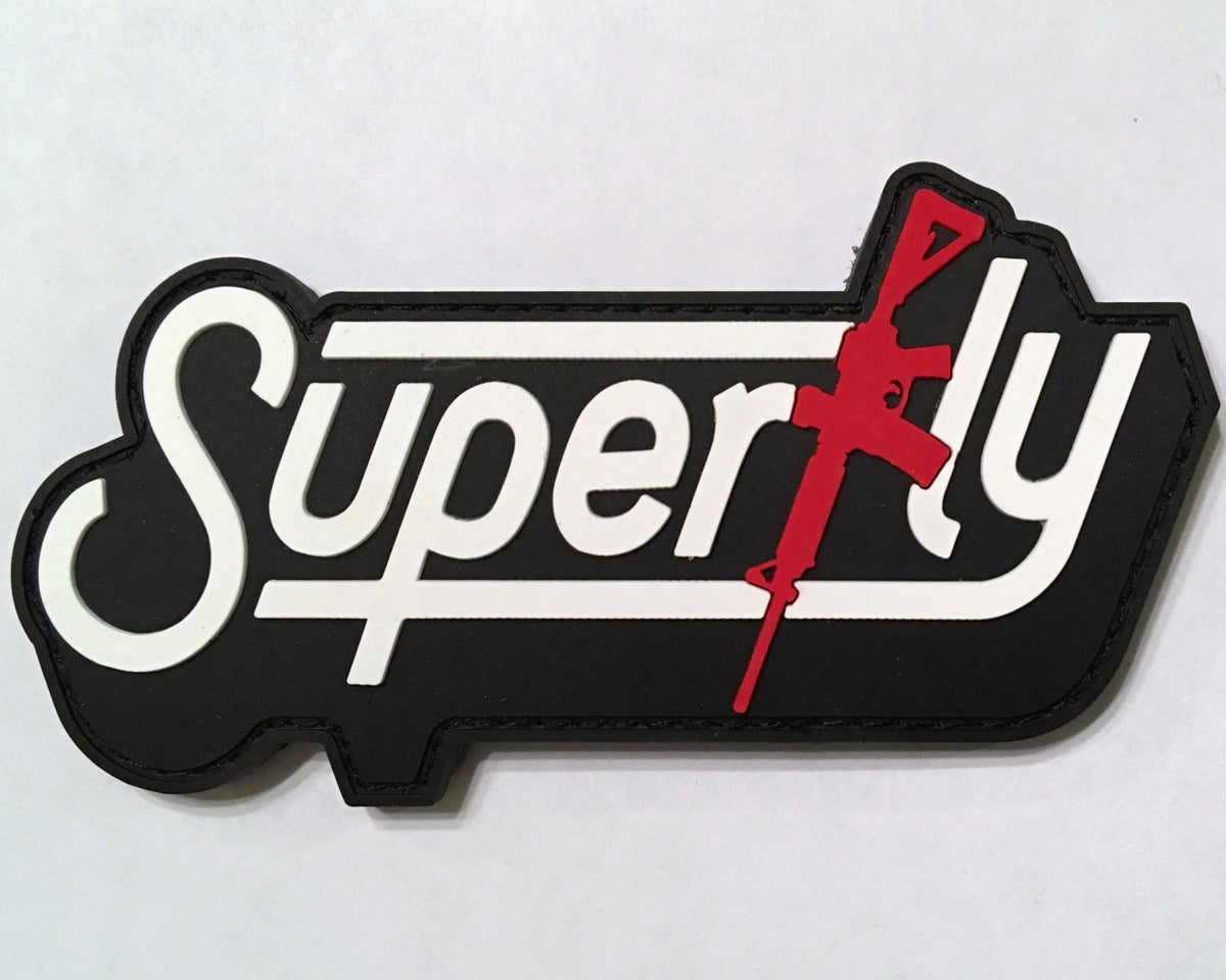 Image of SUPERFLY M4 Patch - Black Stitching