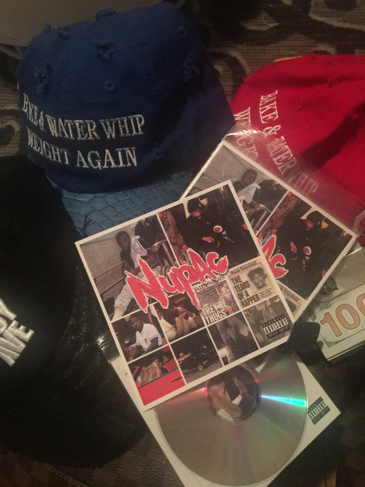 Image of Official Autographed Troy Ave NUPAC CD Disc