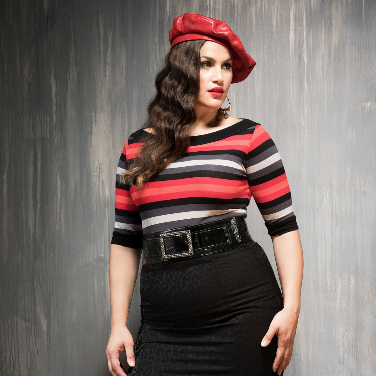 Image of INGRID STRIPED TOP (other options available)