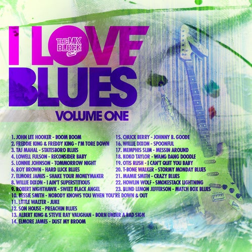 Image of I Love Blues
