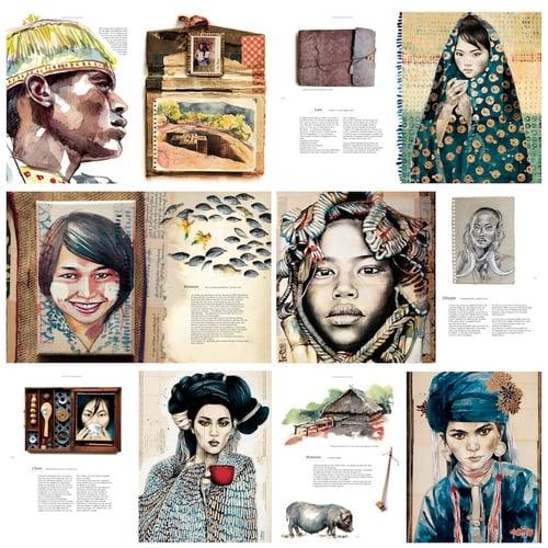 """Image of Book - """"Rencontres Autour du Monde"""""""