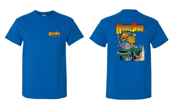 Image of Blue HoonDog T-Shirts