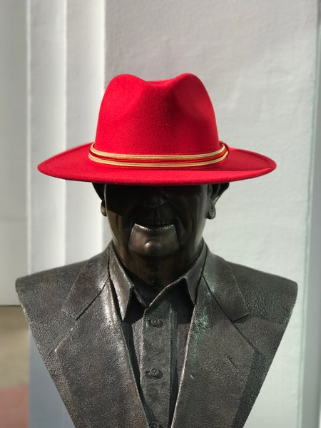 Image of The Safo fedora - red