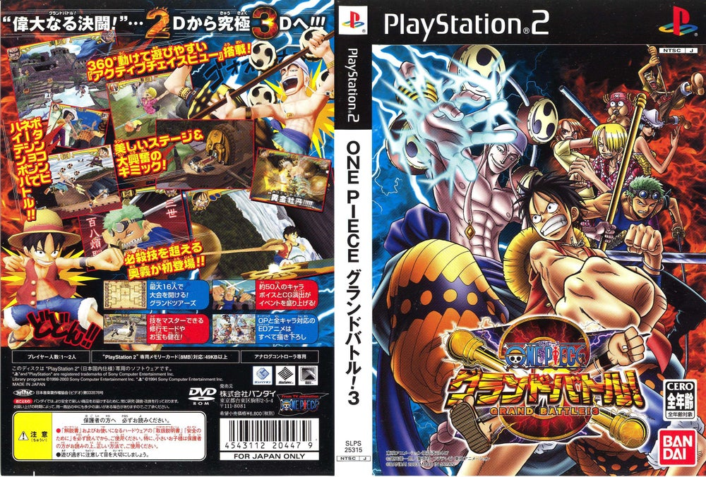 Image of One Piece Grand Battle 2 Pc Free Download
