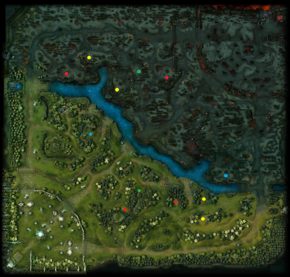 Map] dota v6. 81b ai 1. 1. 9 download.
