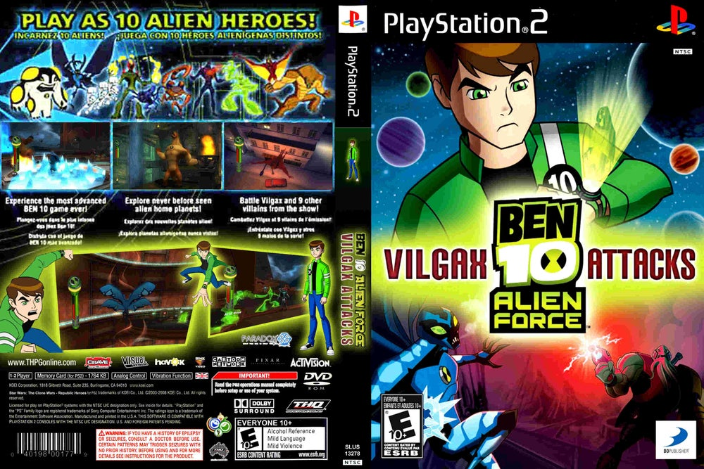 Image of Ben 10 Alien Force Psp Game Download Free