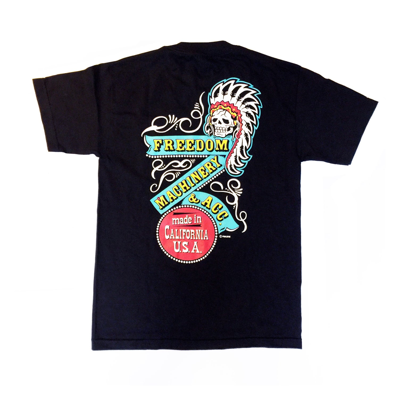 "Image of Freedom Machinery ""Chief"" T-shirt"