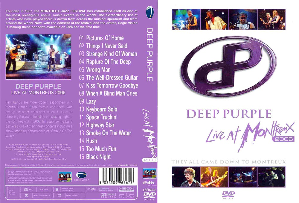 Image of Deep Purple Live In Copenhagen 1972 Download