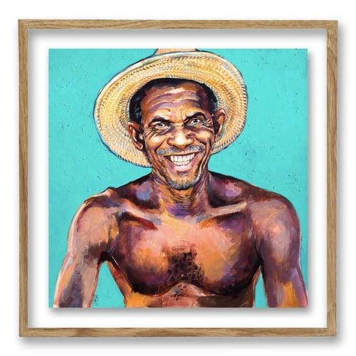 "Image of Paper Art Print - ""Yacinto"""