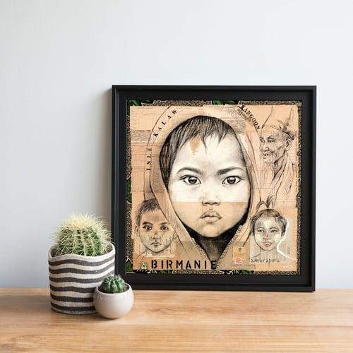 "Image of Paper Art Print - ""Kalaw 2"""