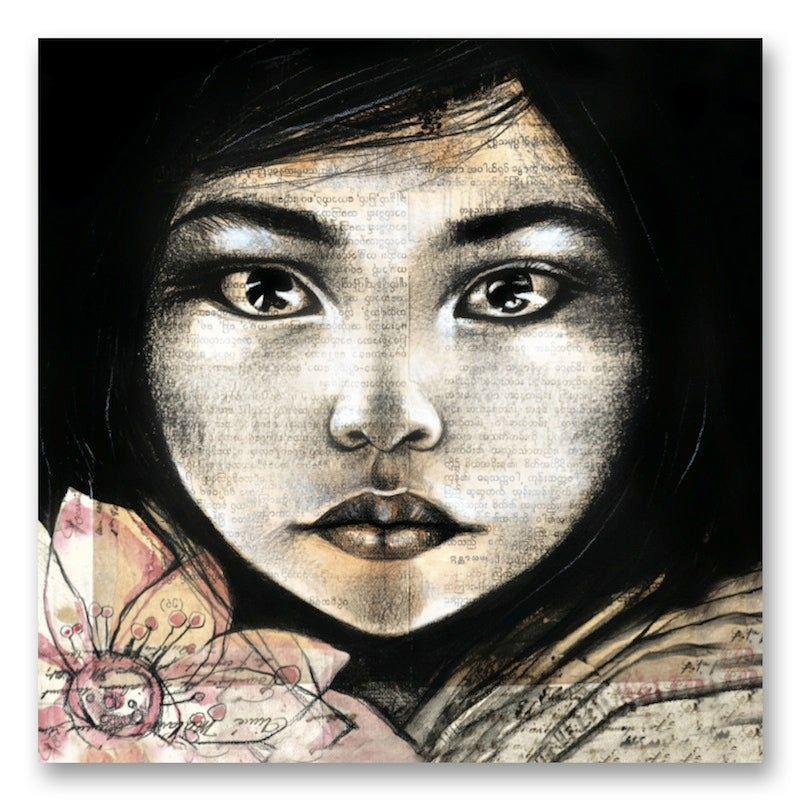"""Image of Paper Art Print - """"Lumière"""""""
