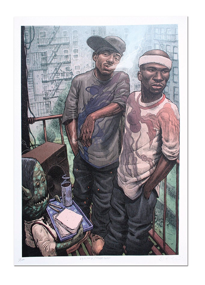 Image of Mobb Deep - Lithograph Print