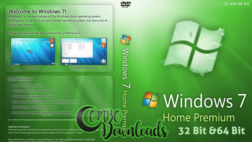 Image of Microsoft Windows 7 Sp1 Download 32 Bit