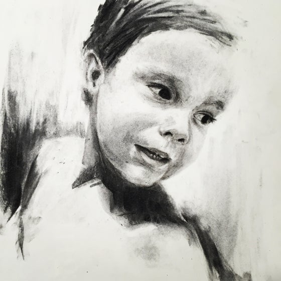 Image of Custom Charcoal Portrait