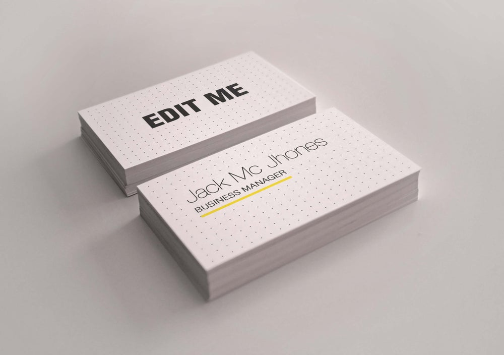 Image of Iphone Business Card Psd Download