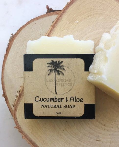 Image of Cucumber + Aloe Soap