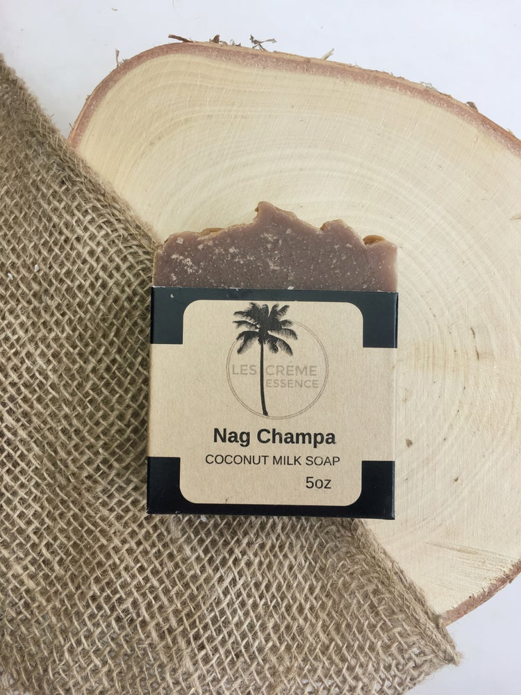 Image of Nag Champa Coconut Milk Soap