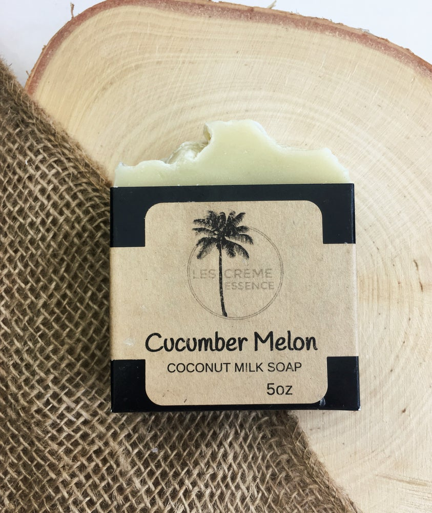 Image of Cucumber Melon Coconut Milk Soap