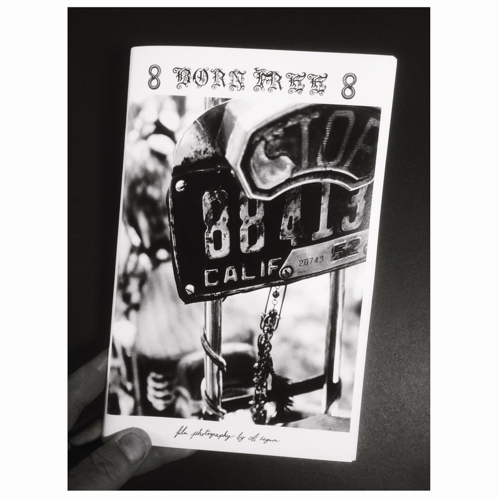 Image of Born Free 8 zine