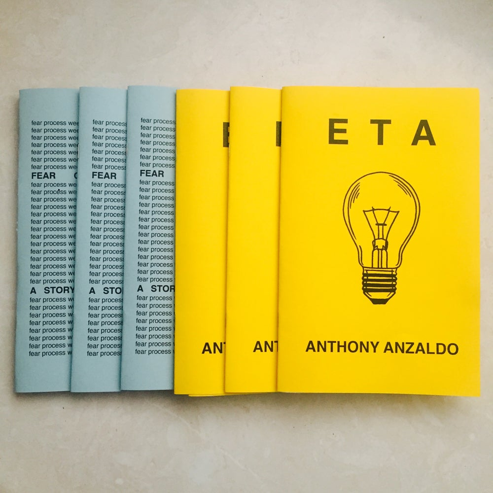 "Image of ""ETA"" + ""Fear Of Weeding Out"" -  Signed By The Authors"