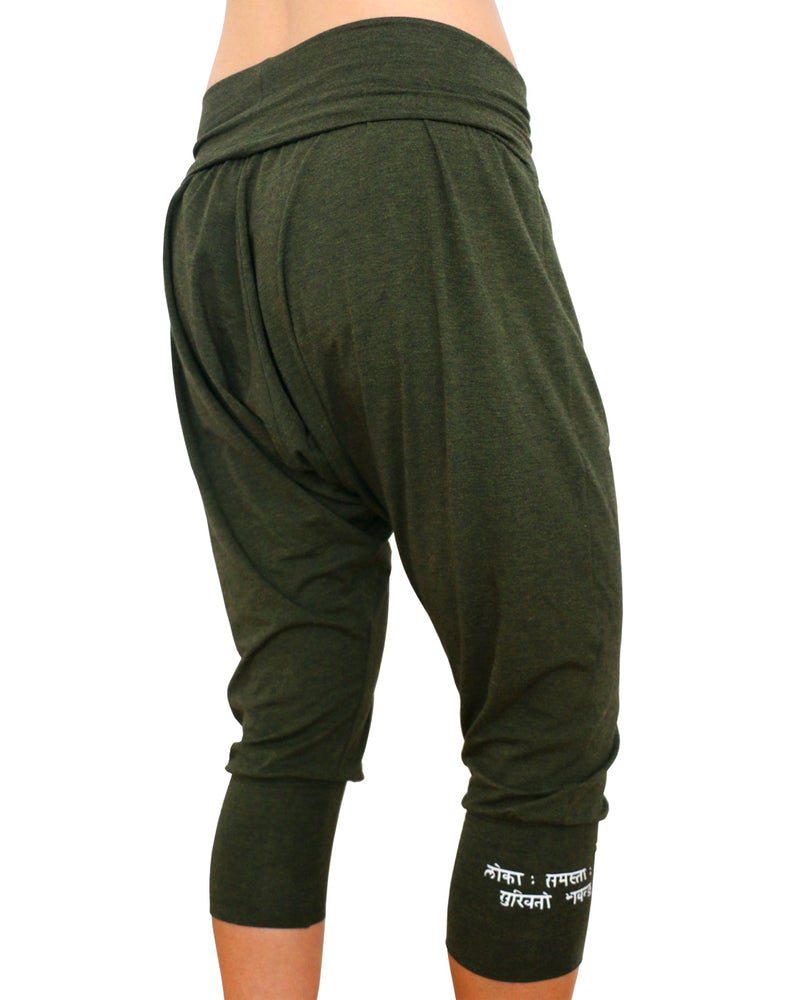 Image of Bamboo Baggy Capris