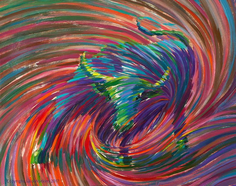 Image of Mystic Bull Abundance Painting - Giclee Print
